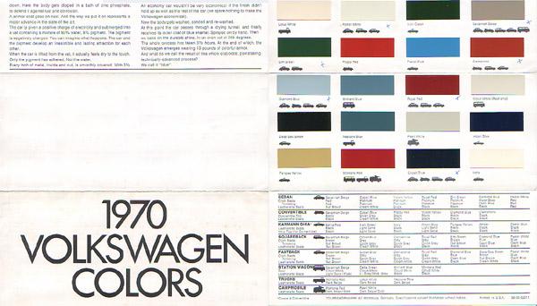 Paint Codes For Volkswagen