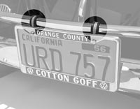 License Plate Hangers And Brackets