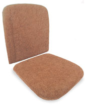 Through 1955 Beetle Seat Pads