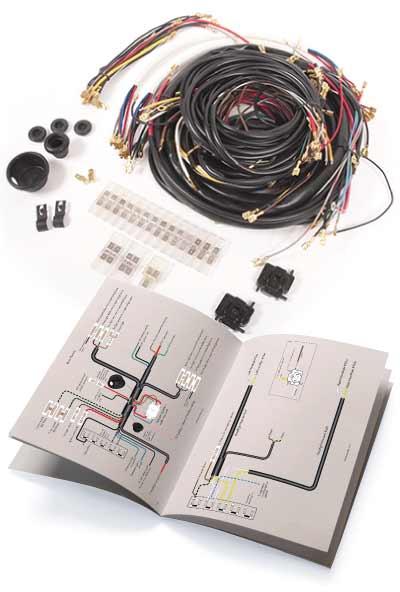 1968-1969 Bug wiring harnessWolfsburg West